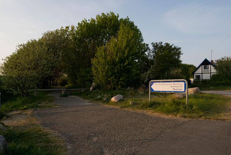 9.1  Stien til Kikhavn Fyret og Knud Rasmussens hus